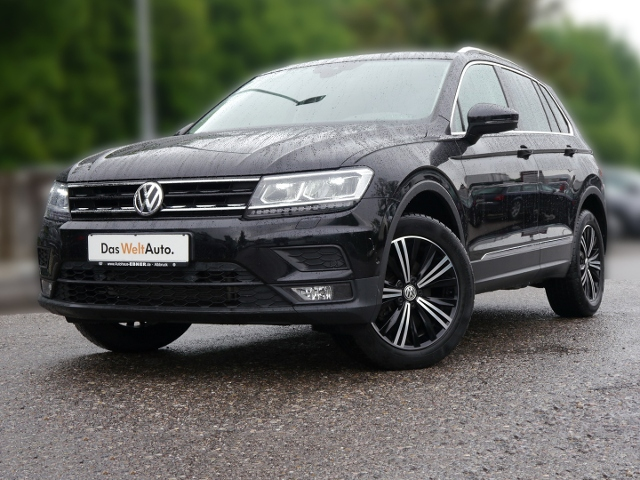 volkswagen tiguan comfortline 1 4tsi dsg acc ahk led shzg. Black Bedroom Furniture Sets. Home Design Ideas