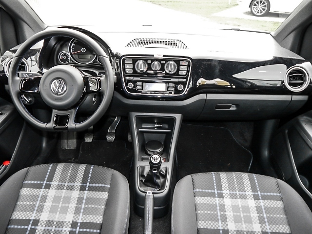 Volkswagen Up! Club & Lounge 1.0 75PS 4-TÜRER NAVI,ALU,CD,